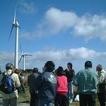 自然エネルギー入門講座第2回「久居・青山高原の風車見学会」