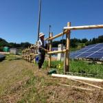 「福島りょうぜん市民共同発電所」完成間近